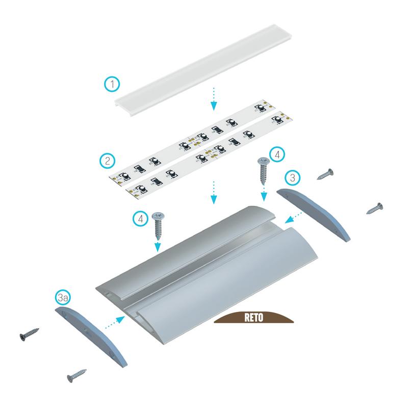 profil lumines  reto po złożeniu