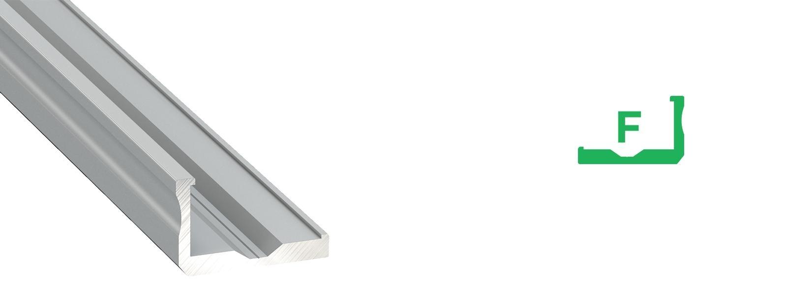 Profil LED kątownik typ F
