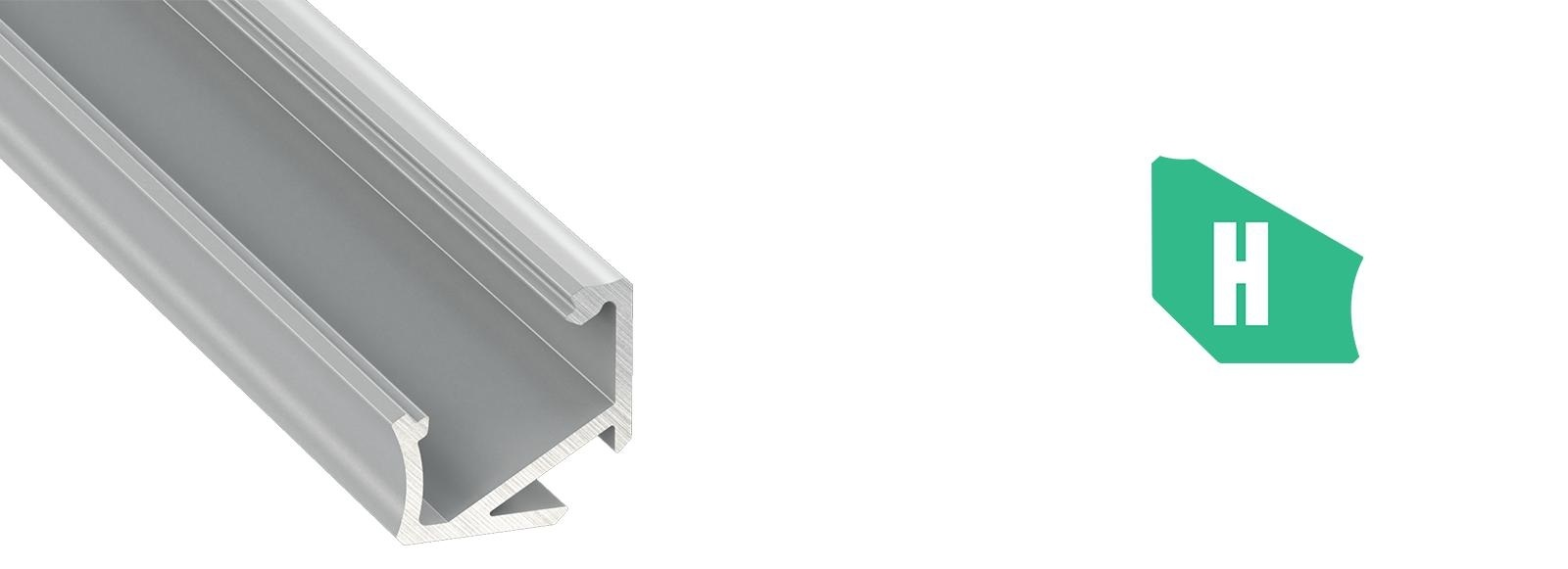 Profil LED narożny typ H
