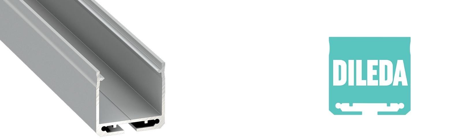 Profil LED natynkowy Dileda