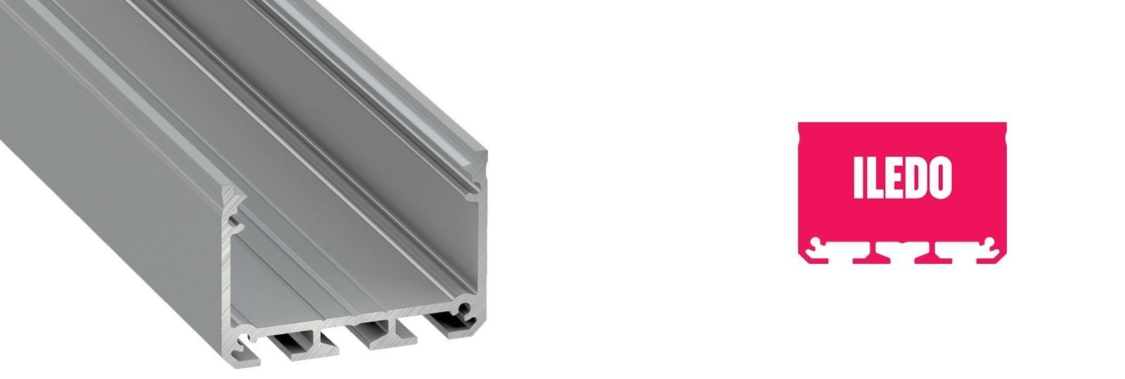 Profil LED natynkowy Iledo
