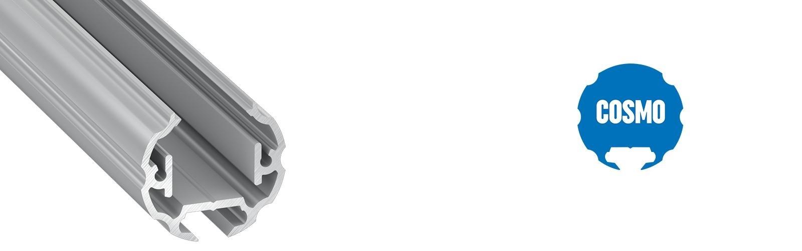 Profil LED okrągły Cosmo