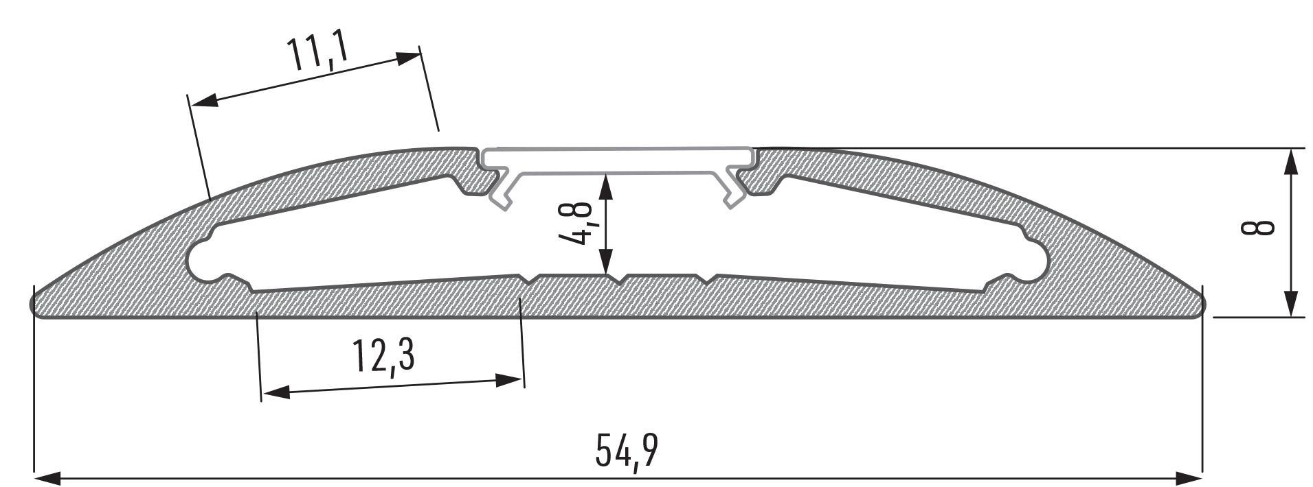 Profil LED Reto Lumines