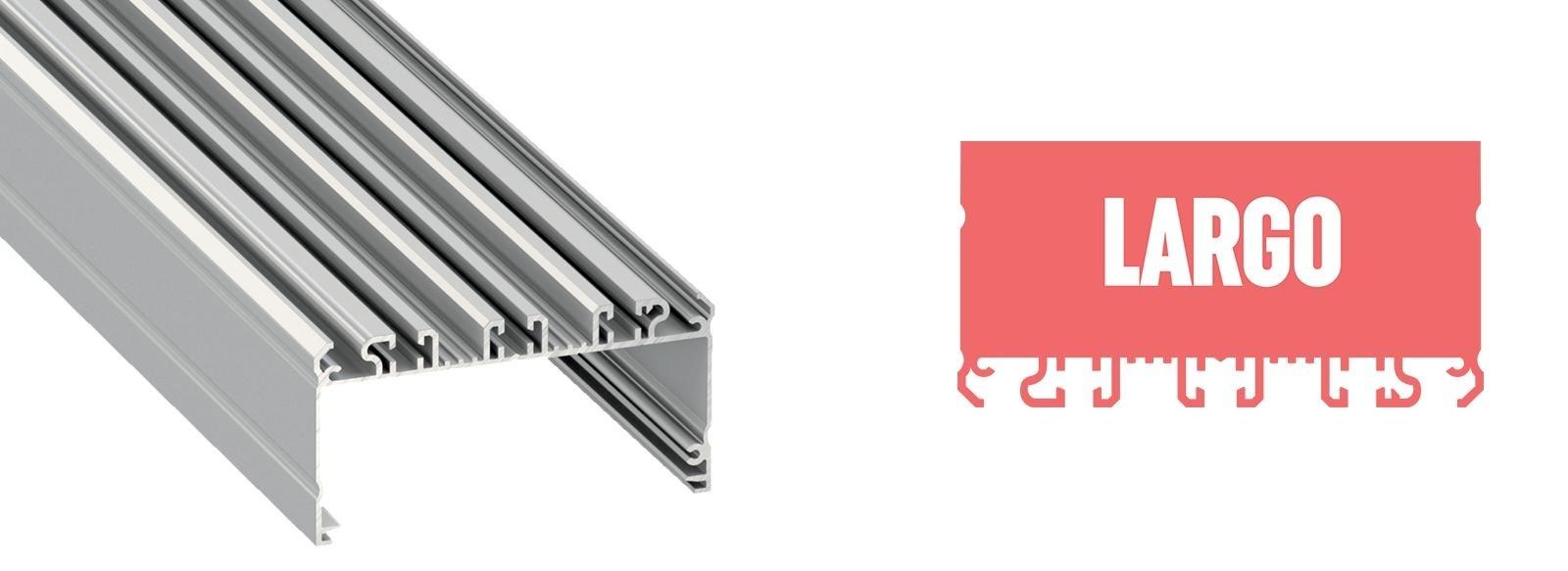 Profil LED szeroki Largo