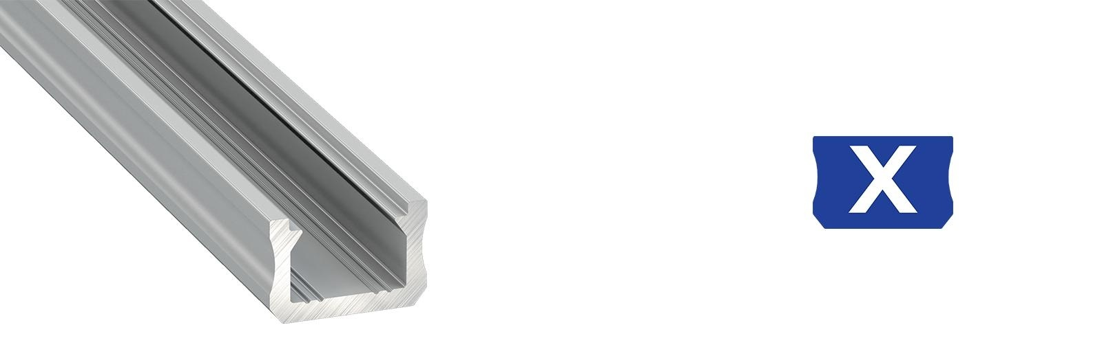 Profil LED wąski typ X