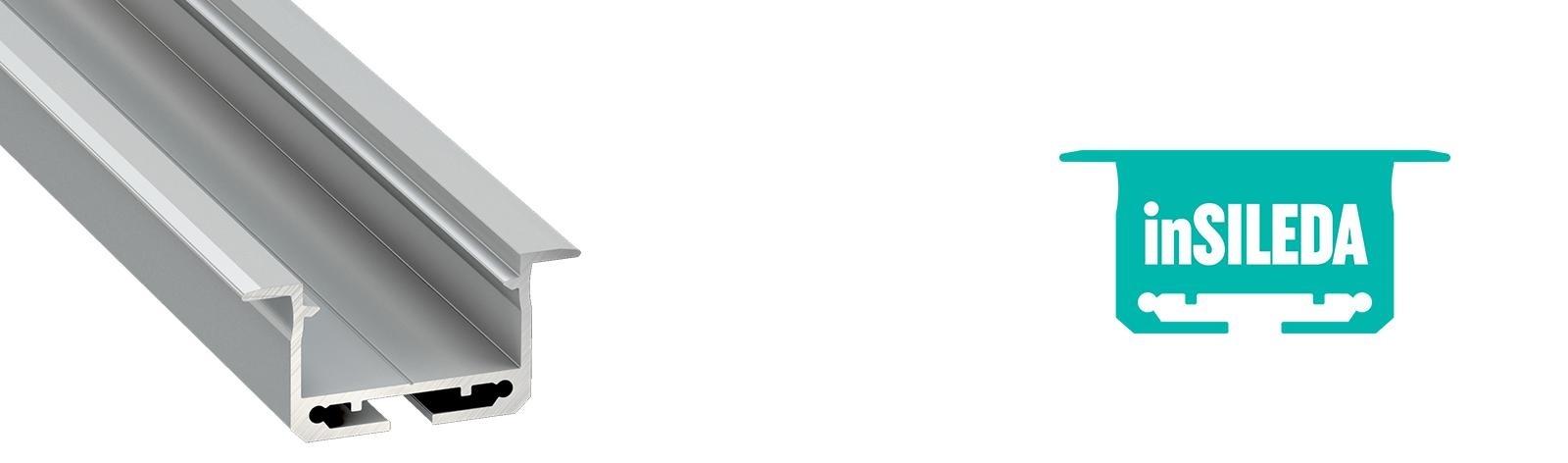 Profil LED wpuszczany inSileda