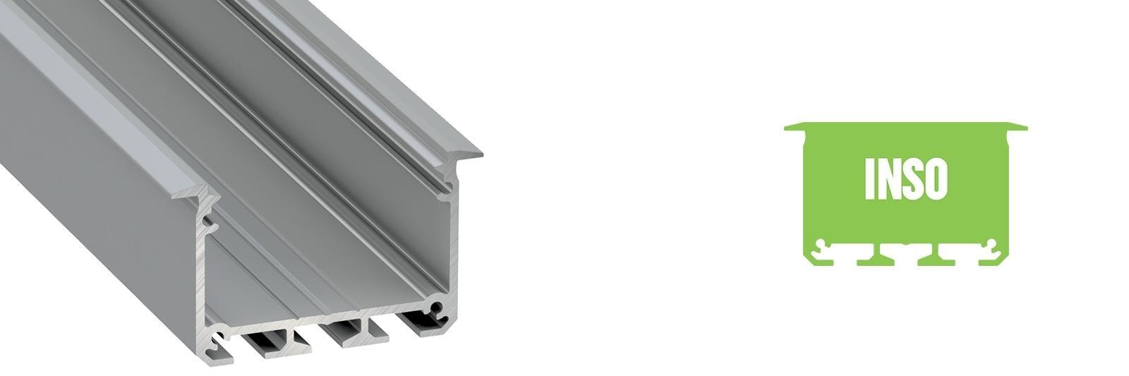 Profil LED wpuszczany Inso
