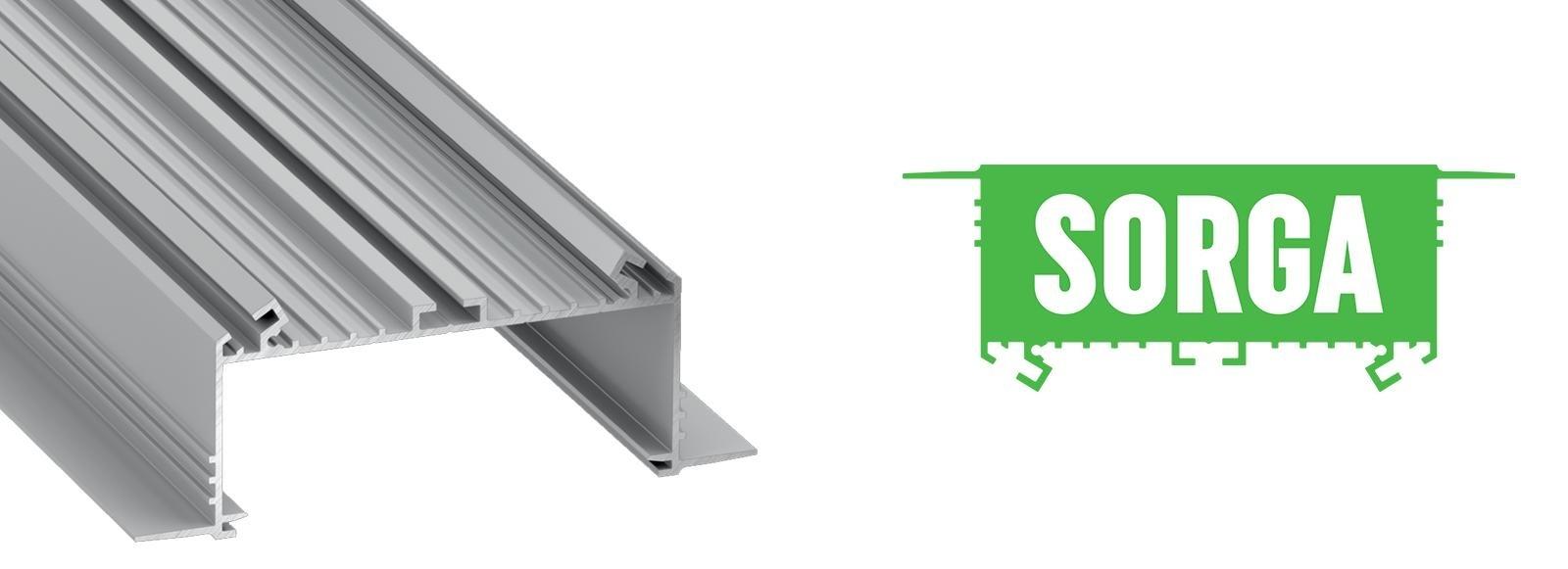 Profil LED wpuszczany Sorga