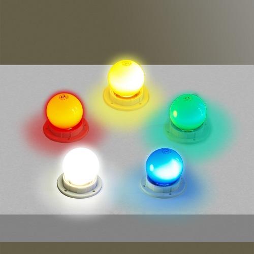 żarówki LED kolorowe